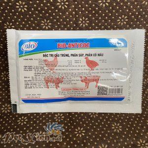 Đặc trị cầu trùng phân sáp phân có máu Bio-Anticoc