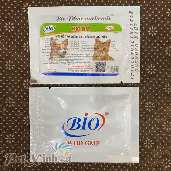 Men hỗ trợ đường tiêu hóa cho chó mèo Bio Biotic