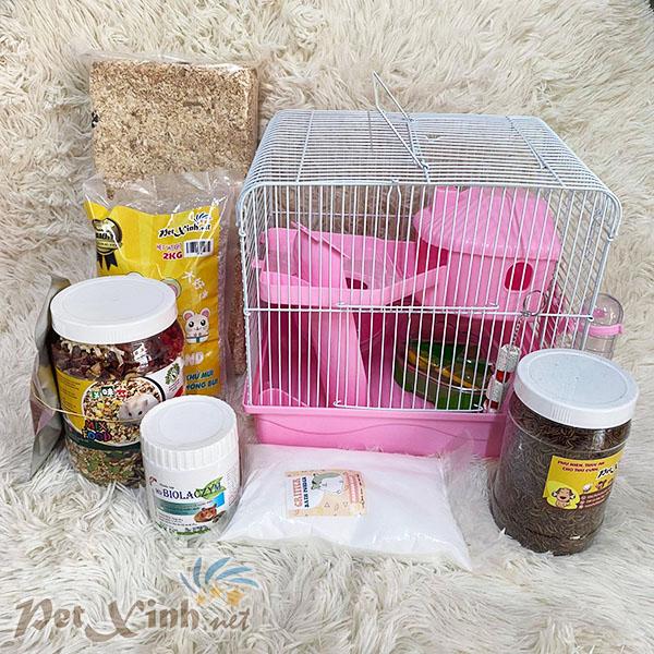 combo hamster pinky