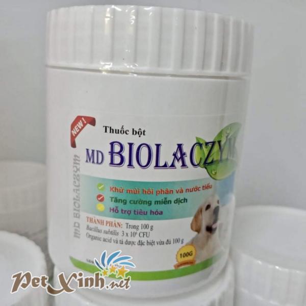 MD Biolaczym hỗ trợ tiêu hóa khử mùi phân và nước tiểu dành cho chó mèo