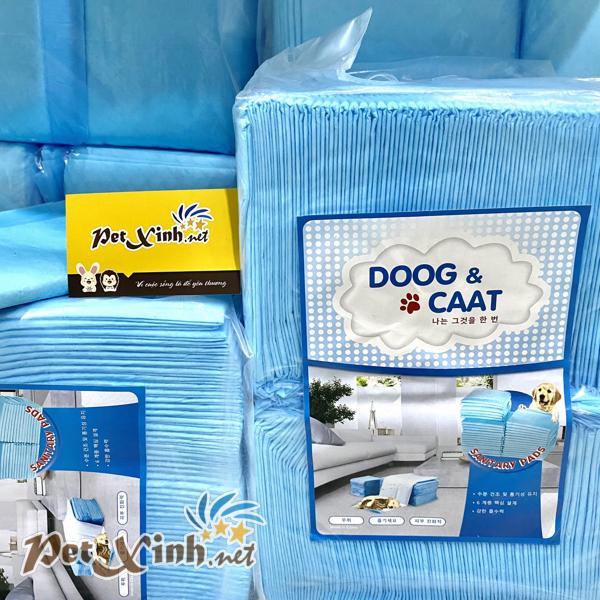 Tã giấy Doog and Caat siêu thấm hút lót chuồng dành cho chó mèo bịch 100 cái